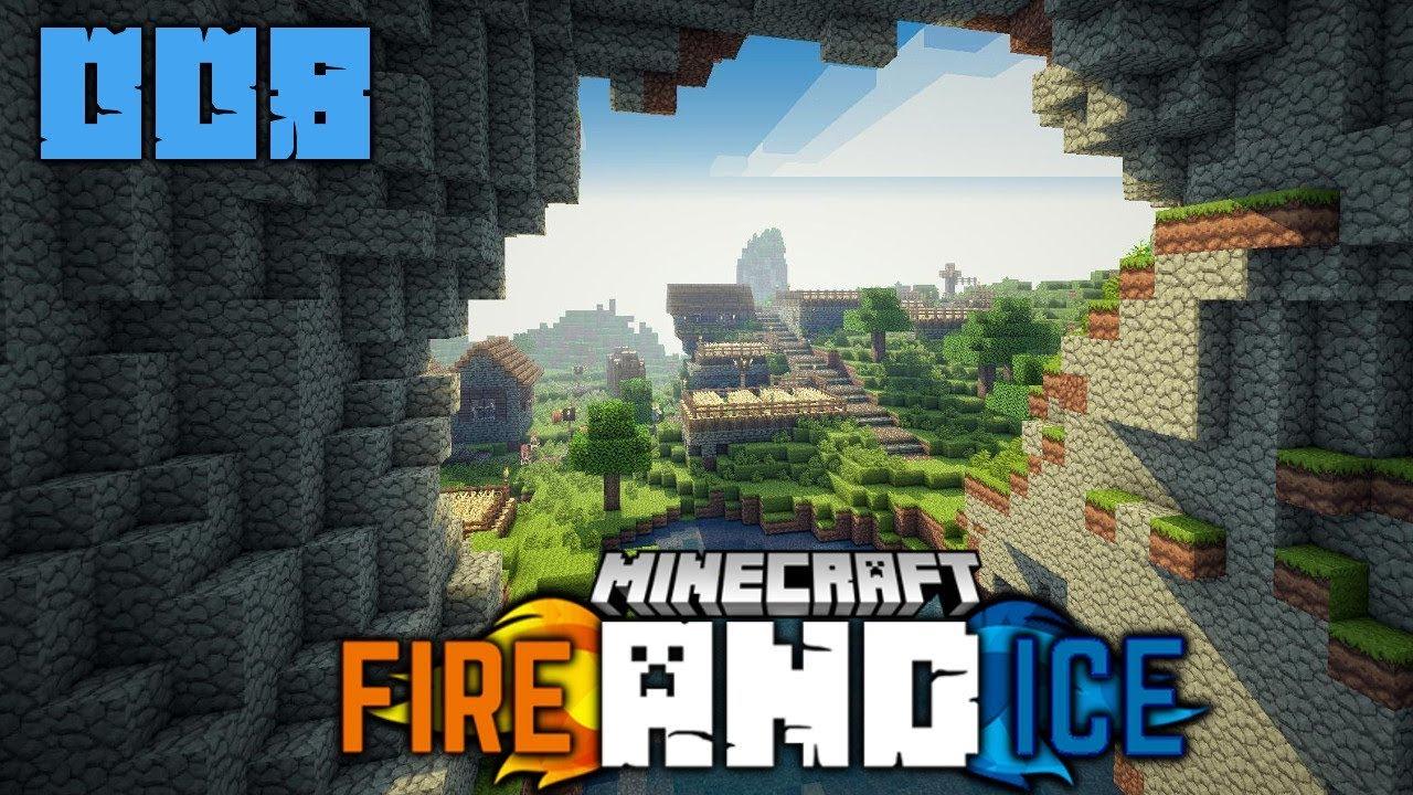 Wieso Spiele Ich Minecraft MINECRAFT Fire Ice Deutsch - Minecraft fake spielen