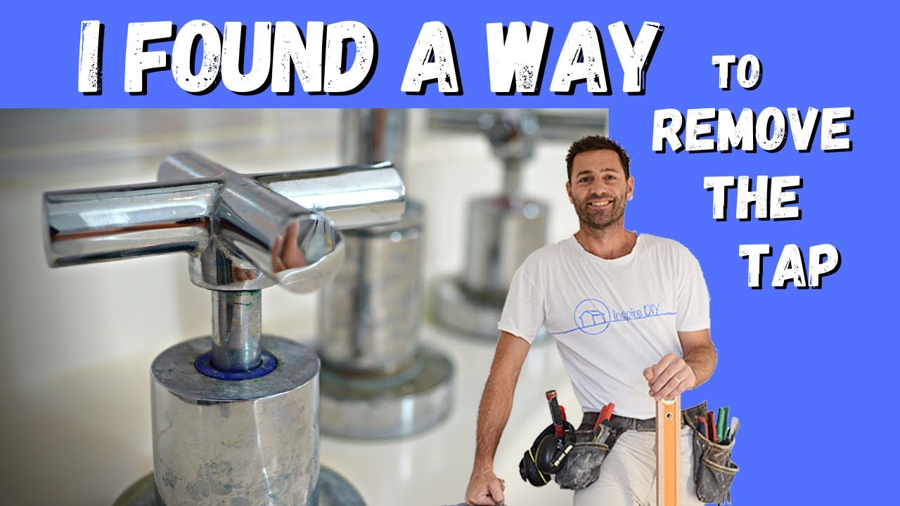 How To Remove A Tap With No Screw With Inspire Diy Kent Thomas Youtube