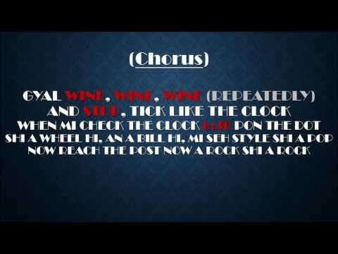Gyptian - Non Stop (Lyrics On Screen)