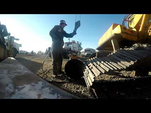 Excavator Undercarriage Work
