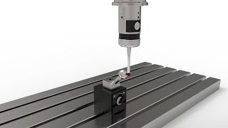 Machine tool probe calibration - With 180° spindle orientation function