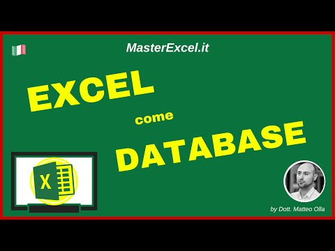 MasterExcel.it - Tutorial: Come creare un Database con Excel