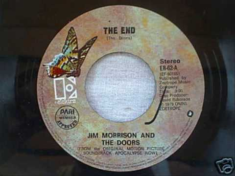 The Doors - The End (Rare Single Version) & The Doors - The End (Rare Single Version) - YouTube
