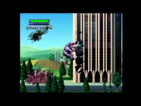 (PS1) Rampage 2: Universal Tour All American Levels