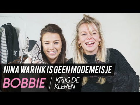 NINA WARINK kleedt zich in GRONINGEN minder sexy dan in AMSTERDAM | KRIJG DE KLEREN  | Bobbie Bodt