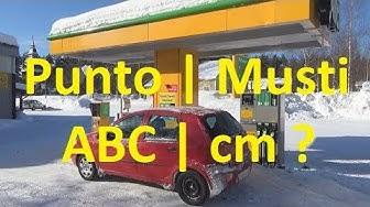 Punto | Musti | ABC | lumen syvyys cm?