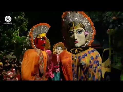 Rame ondel ondel Bintang adzam dipasar malam rawa sari
