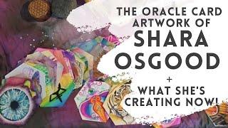 The Oracle Card Artwork of Shara Osgood