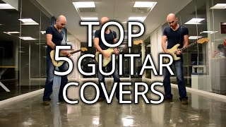 Top 5 Best Electric Guitar Covers of Q1 2015