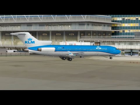 boeing 727 200 klm royal dutch airlines nc take off from