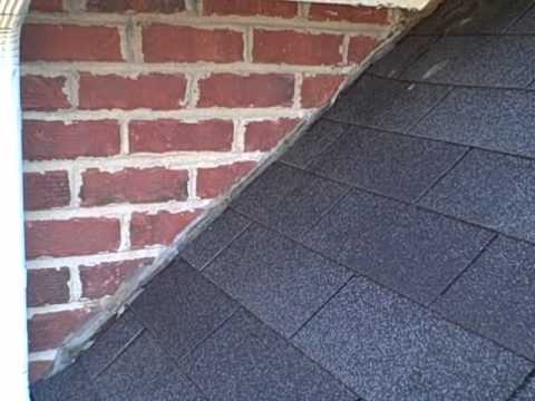 Missing Roof Flashing Found By Franklin Tn Home Inspector