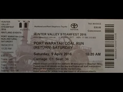 Australian Trains -  Visit to the Newcastle Coal Loader, Port Waratah