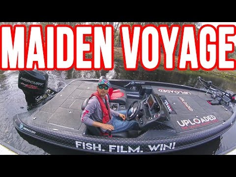 NEW Bass Boat Maiden Voyage ~ It' Finally REAL & Epic Bass Underwater