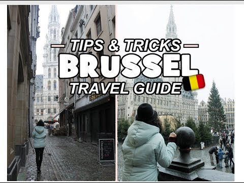 BRUSSELS TRAVEL VLOG| TIPS & TRICKS 😍⛪🌇⛄🎵❤