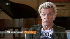 ZDF Heute Journal - Interview mit Billy Idol zu Hause in Los Angeles