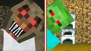 Monster School: GRANNY HORROR GAME CHALLENGE | Minecraft Animation