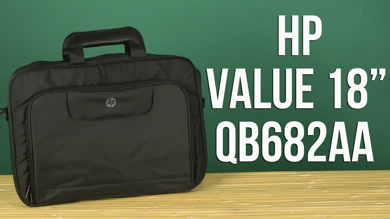 e8af49427c2b9 Распаковка HP Value 18'' Black QB683AA - YouTube