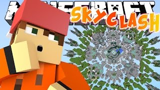 НОВАЯ PVP МИНИ ИГРА! [MINECRAFT SKYCLASH]