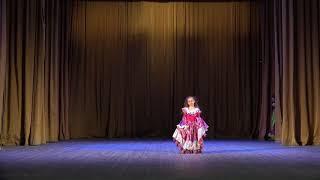 Цыганский танец-gipsy dance,хореограф Виктория Черная