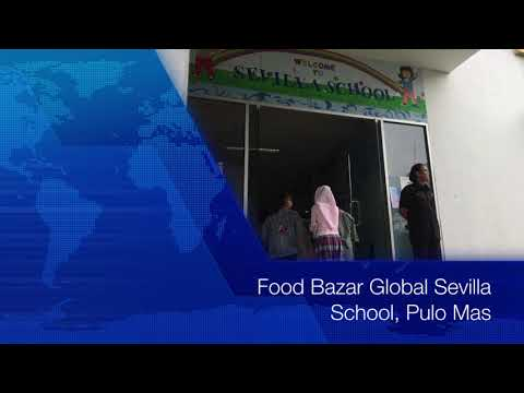 Food Bazaar Global Sevilla Intercultural School Jakarta