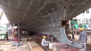 両頭型旅客船兼自動車航送船(フェリー)㈱松浦造船所 第605番船「第十...