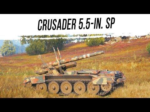 Страдаю на Crusader 5.5-in. SP