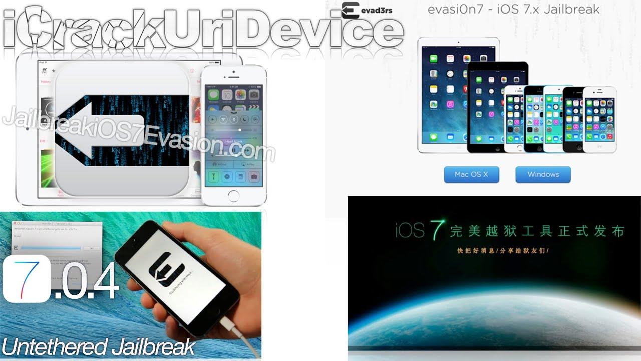 iOS 7 0 4 Jailbreak Untethered Released, TaiG Scandal, Fix Evasi0n 7,  MobileSubstrate 7 0 4 & More