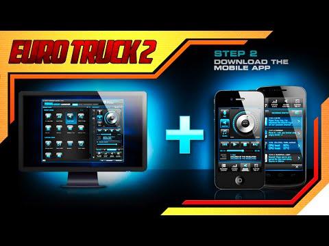 Euro Truck Simulator 2 - Tutorial Touch Screen para Smart Phones,Iphones e Ipads