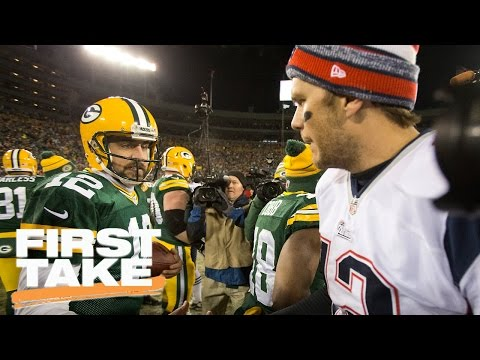 Would Bill Belichick Rather Have Tom Brady Or Aaron Rodgers? | First Take | April 14, 2017