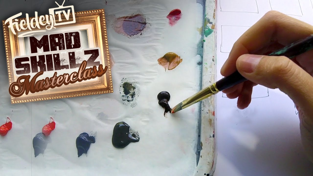 Mix realistic skin colors and flesh tones for painting like a pro! | MSM 14