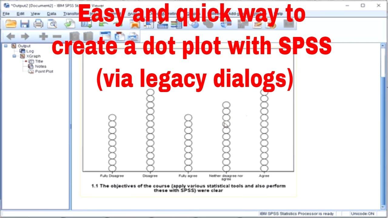 Spss diagrams dot plot via legacy dialogs youtube spss diagrams dot plot via legacy dialogs pooptronica