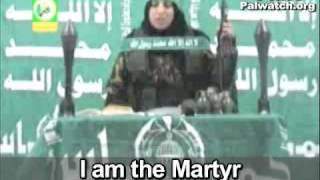 Killing Zionists is path to Heaven - Hamas suicide farewell video by female terrorist