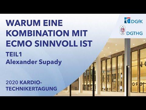 Warum eine Kombination mit ECMO sinnvoll ist | Dr. Alexander Supady, Freiburg