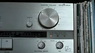 Luxman K-405 auto reverse cassette deck