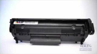 LD ink cartridge remanufactured for the HP Q2612A, or the 12A