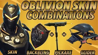 """OBLIVION"" SKIN BEST BACKBLING + SKIN COMBOS! (Legendary skin) (Fortnite Battle Royale) (2018)"