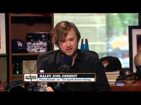Haley Joel Osment In-Studio on The Dan Patrick Show (Full Interview Part 1) 07/16/15