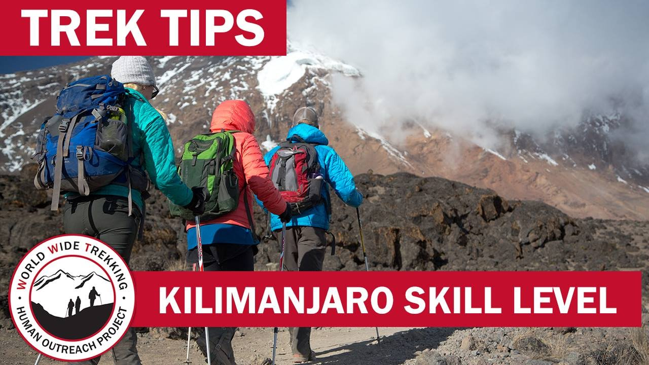 Kilimanjaro Skill Level How Difficult Is It To Climb Kilimanjaro Trek Tips Youtube