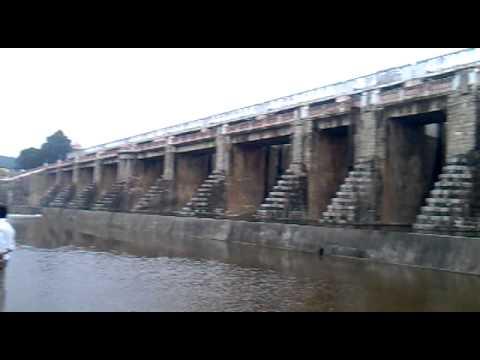 Map from Chennai to Poondi Dam