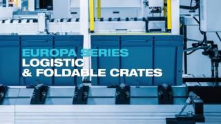 Pavoni Europa series Logistic & Foldable Crates