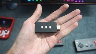Máy chơi game NES 4 nút chỉ nhỏ bằng USB, tận 600 game !!!