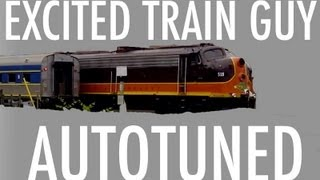 Excited Train Guy Autotune (Song A Day #1325)