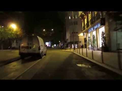 Cycling in Paris by Night: Avenue Montaigne _ Avenue George V