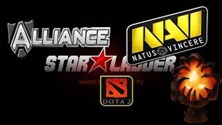 Highlight Dota 2 Na'Vi vs Alliance Star Ladder 13 Dendi Queen of Pain