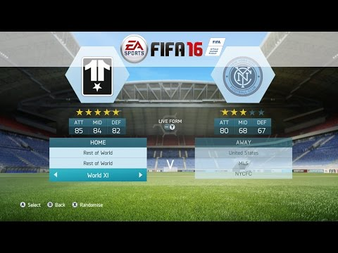FIFA 16: All Leagues, All Teams, All Stats / Ratings