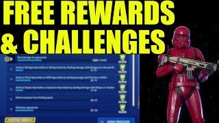 FREE Star Wars REWARDS & CHALLENGES - Fortnite