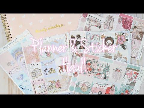 Planner & Sticker Haul!