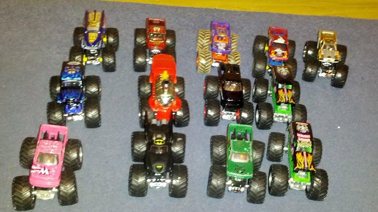 Hot Wheels Monster Jam Monster Trucks Collection 2012 Uk Youtube