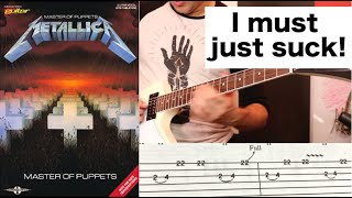 The Master of Puppets TAB Book VS. Reality (12 WTF Moments!)