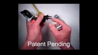 Electrical cord plug lock using your Master or Brinks padlock